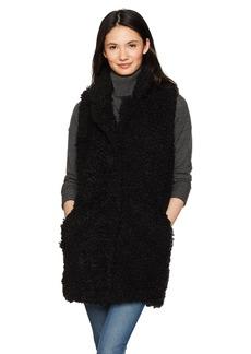 BB Dakota Women's Partick Faux Fur Sherpa Vest