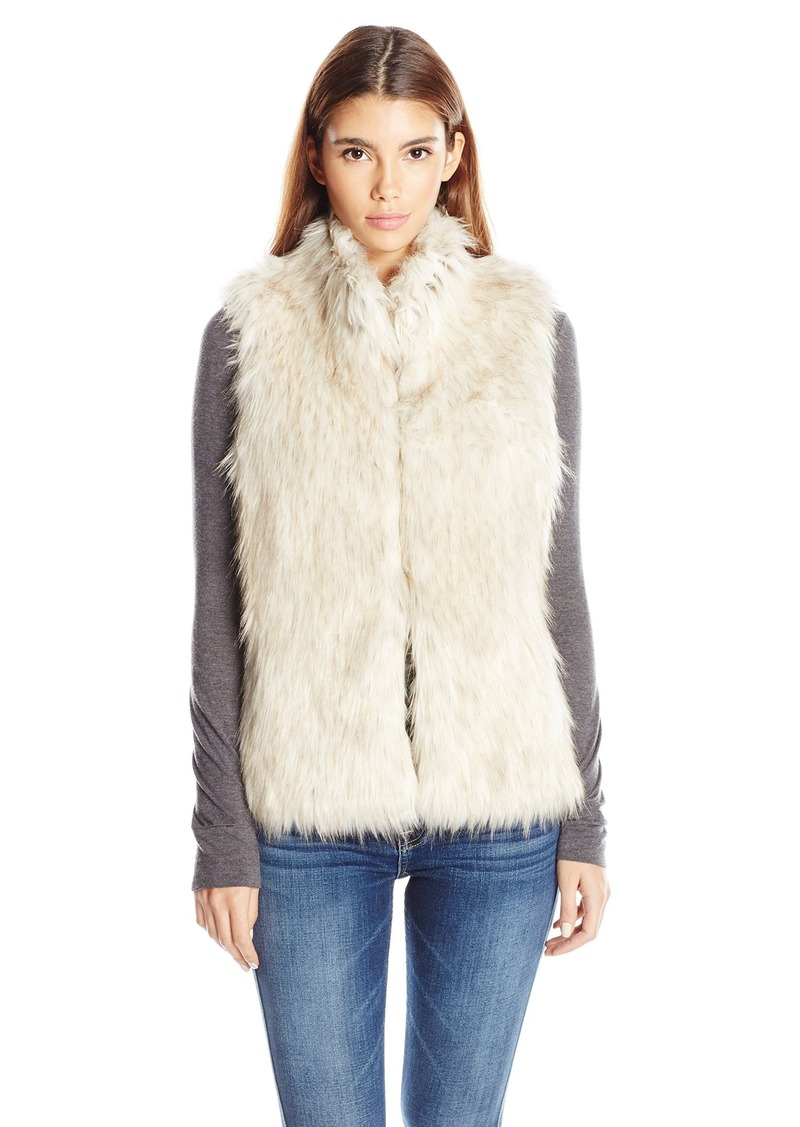 BB Dakota Women's Brewer Faux Fur Vest