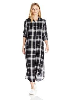 BB Dakota Women's Coley Plaid Shirt Dress
