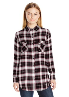 BB Dakota Women's Ebson Yarn Dyed Plaid Flannel Shirt