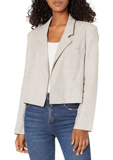 BB DAKOTA Women's Plaid ME at Hello Blazer  S
