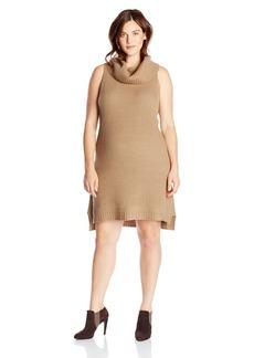 BB Dakota Women's Plus-Size Renton Turtleneck Dress  3X