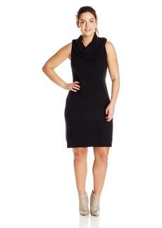BB Dakota Women's Plus-Size Renton Turtleneck Dress  1X