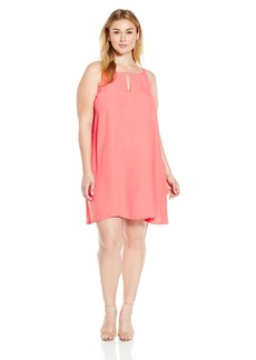 BB Dakota Women's Plus Size Yolanda A-Line Dress  3X