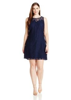 BB Dakota Women's Plus-Size Zani Sleeveless Lace Dress