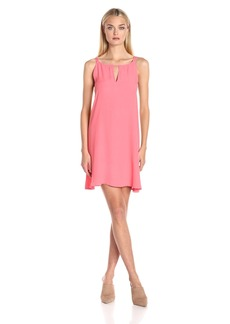 BB Dakota Women's Rachel A-Line Crepe Dress