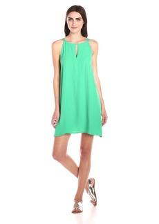 BB Dakota Women's Rachel A-Line Crepe Dress  Small