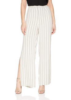 BB Dakota Women's Rebekah Striped Wide Leg Pant