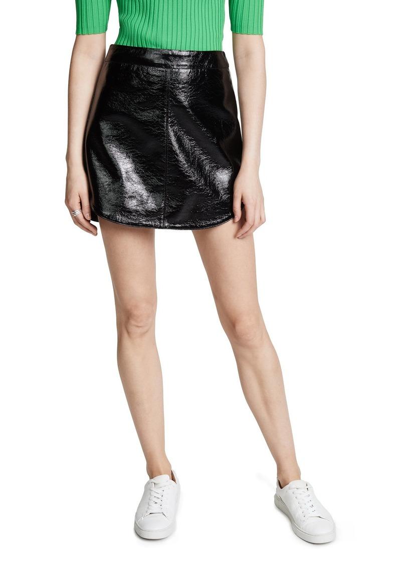 BB Dakota Women's Retro Royalty Mini Skirt