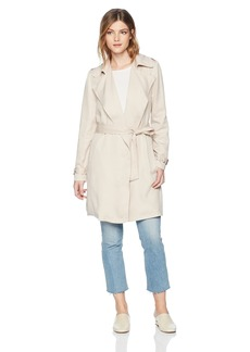 BB Dakota Women's Rocco Wrap Trench Coat