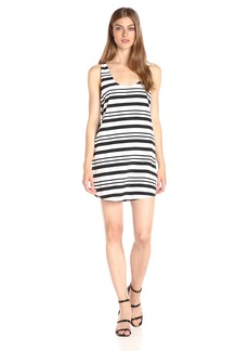 BB Dakota Women's Rowland Striped Shift Dress