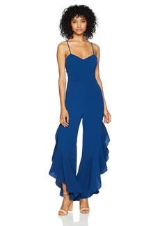 BB Dakota Women's RSVP Saba Ruffled Leg Jumpsuit