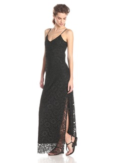 BB Dakota Women's Rumer Lace Maxi Dress