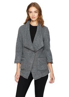 BB Dakota Women's Shane Ribbed Woolen Coat