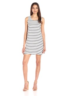 BB Dakota Women's Shaye Striped Shift Tank Dress