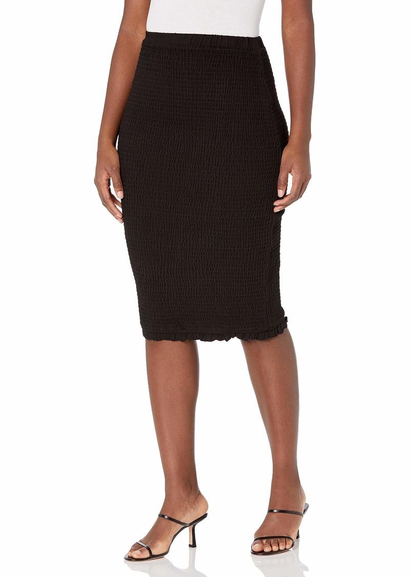 BB DAKOTA Women's Smocked & Amazed Skirt  M