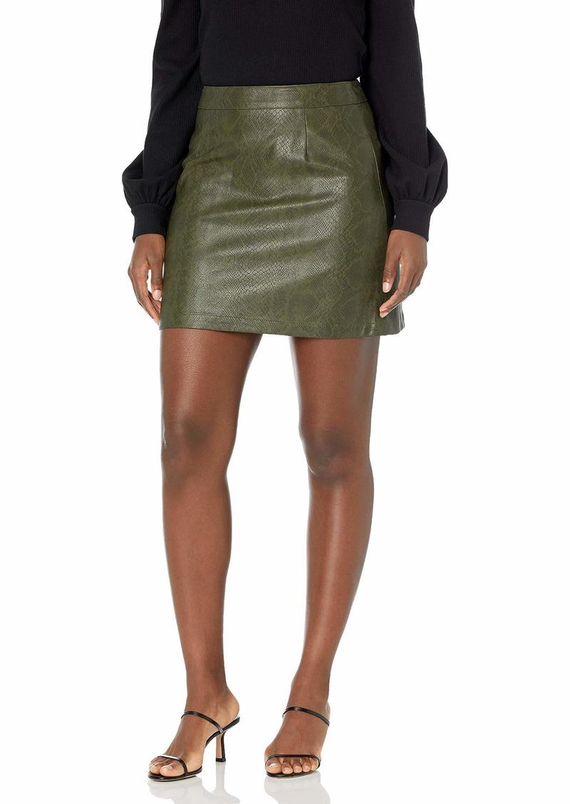 BB Dakota Women's Snake A Leg Skirt