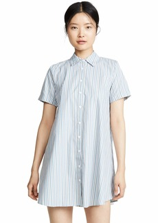 BB Dakota Women's stripe a personality shirt dress  medium