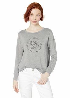 BB Dakota Women's Sweatin' me French Terry Logo Sweatshirt