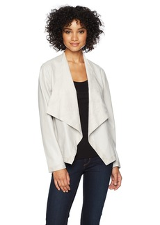BB Dakota Women's Teagan Reversable Vegan Leather Jacket  Extra Small
