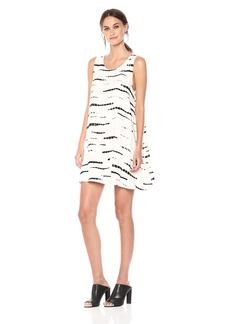 BB Dakota Women's Terra Tie Die Print Swing Dress
