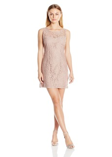 BB Dakota Women's Thessaly Sleeveless Lace Dress