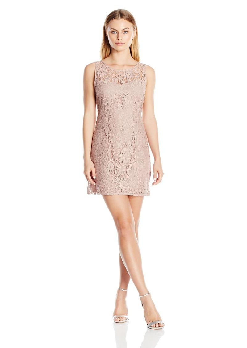 BB Dakota Women's Thessaly Sleeveless Lace Dress