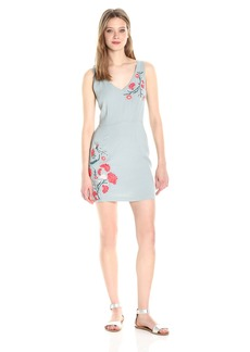 BB Dakota Women's Tullie Embriodered Textured Dress
