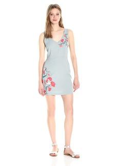 BB Dakota Women's Tullie Embriodered Textured Dress