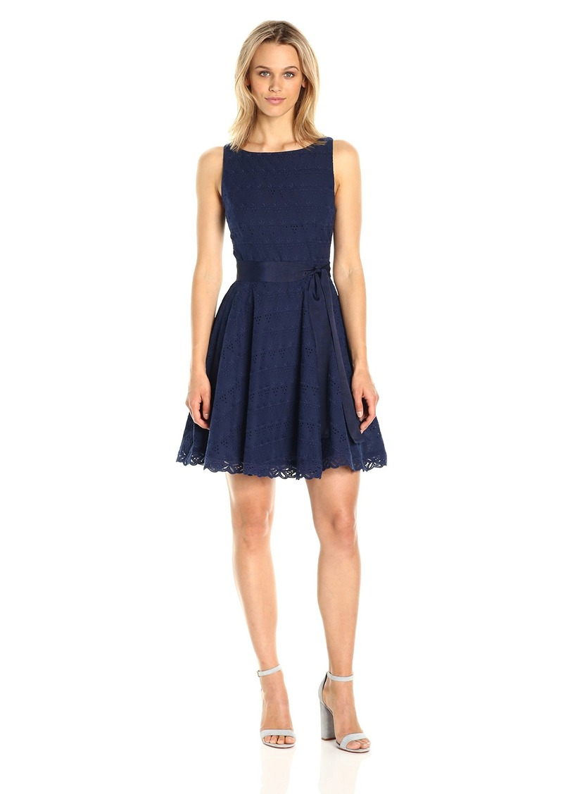 11fef32a6e46 BB Dakota BB Dakota Women's Ty Eyelet Lace Fit N Flare Dress   Dresses