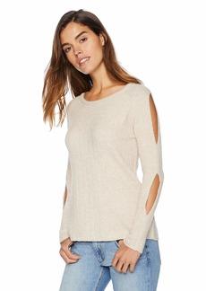BB Dakota Women's Underneath It All Sweater  Extra Small