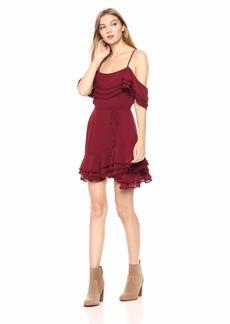 BB Dakota Women's Up All Night Ruffle Dress