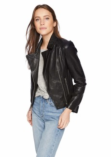 BB Dakota Women's Wild On Leather Jacket