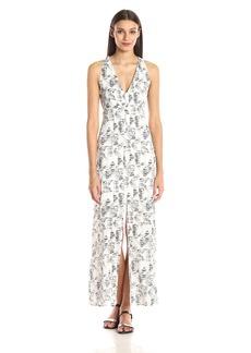 BB Dakota Women's Zana Shards Printed Crepe Maxi Dress