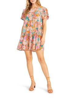 BB Dakota by Steve Madden In Retrospect Floral Shift Dress