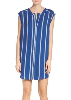 BB Dakota Zea Stripe Shift Shirtdress