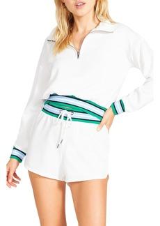 BB Dakota Zip It Good Half Zip Sweatshirt