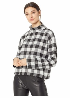 BB Dakota Buffalo 66 Plaid Knit Sweatshirt