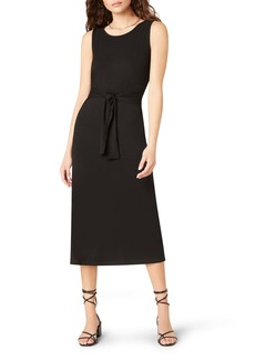 BB Dakota Chic to Chic Belted Jersey Midi Dress