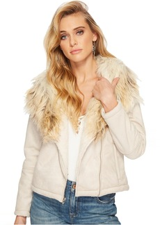 Claver Faux Fur Trim Jacket