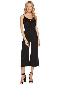 BB Dakota Darcy Faux Suede Midi Jumpsuit