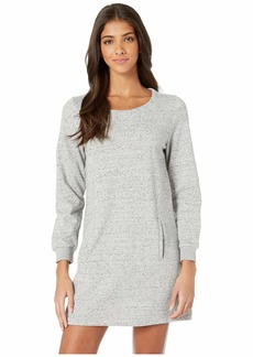 BB Dakota Days Off French Terry Dress with Lace-Up Back