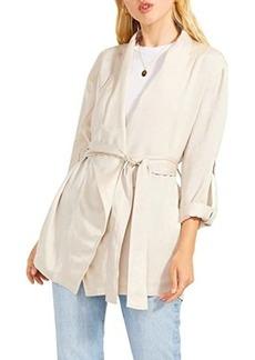 BB Dakota Drape Up Or Ship Out Jacket - Drape Front Jacket