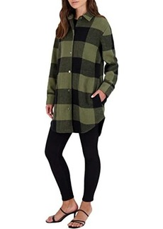 BB Dakota Eldridge Buffalo Plaid Coat