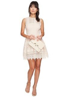 BB Dakota Elissa Lace Fit N Flare Dress