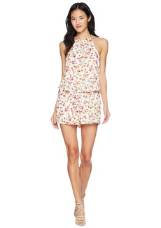 "BB Dakota Eva ""Wild Poppies"" Printed Romper"
