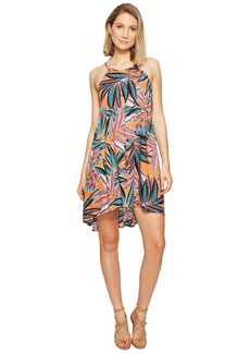 "BB Dakota Farrow ""Jungle Sunrise"" Printed Rayon Crepe Dress"