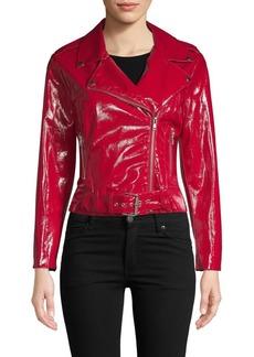 BB Dakota Faux Leather Biker Jacket
