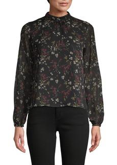 BB Dakota Floral Long Sleeve Top