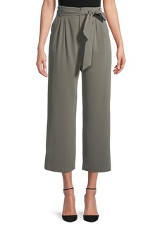 BB Dakota Go With The Flow Belted Cropped Pants